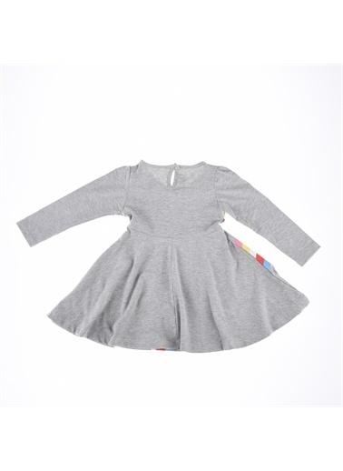 Deco Deco Kız Gökkuşağı Baskı Elbise-Mint Yeşili Deco Kız Gökkuşağı Baskı Elbise-Mint Yeşili Gri